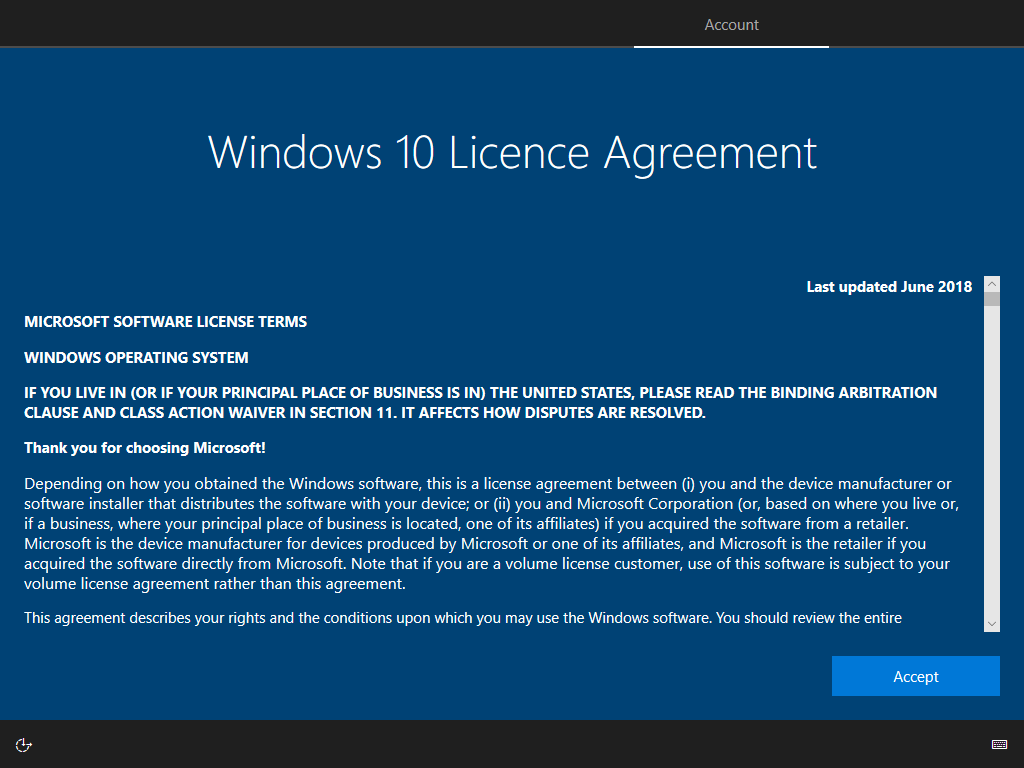 windows 10 open business license